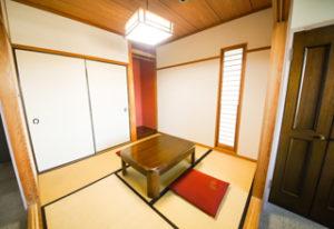 客室406号室(和洋室)和室