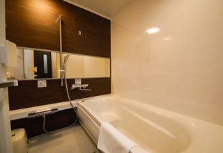 客室406号室(和洋室)浴室