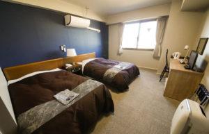 客室301号室(ツイン)ベッド